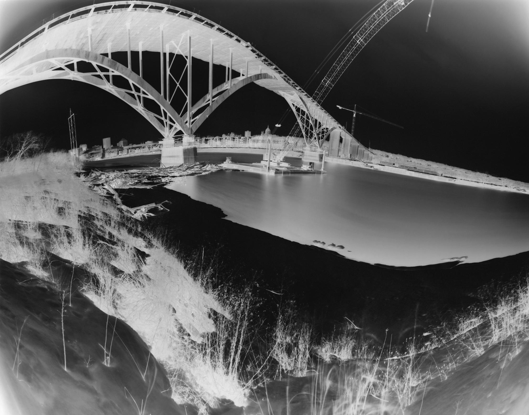 High Bridge: a photograph of the High Bridge in Saint Paul